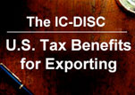 tax incentive  for Americans who export product and related services