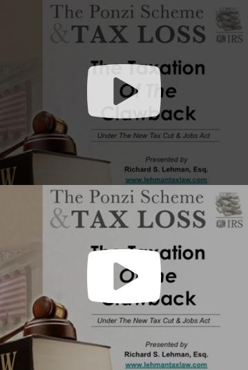 Ponzi Clawback