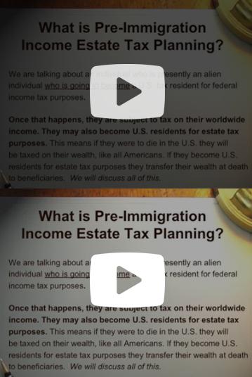 Pre Inmigration
