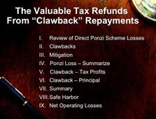Valuable Clawback Repayments