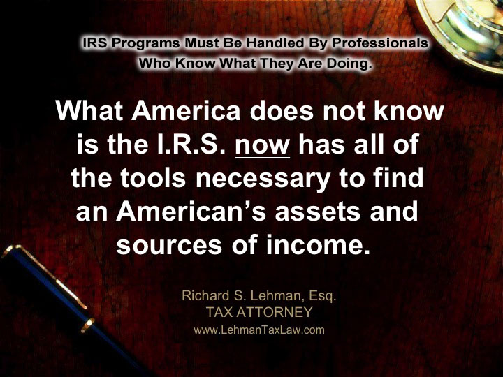 IRS Offshore Amnesty